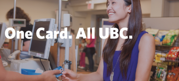 Need a UBCcard? Apply Online
