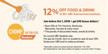UBCcard Promotion